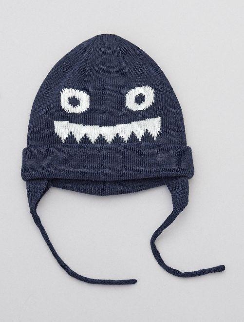 Bonnet 'Monstre'                             BLEU