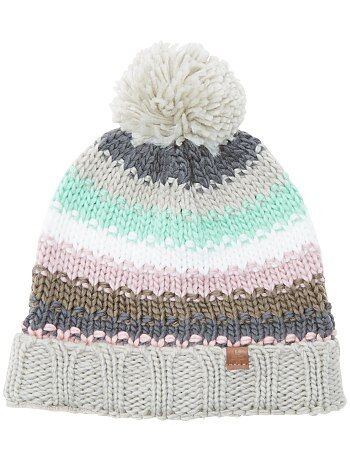 Bonnet multicolore à pompons - Kiabi