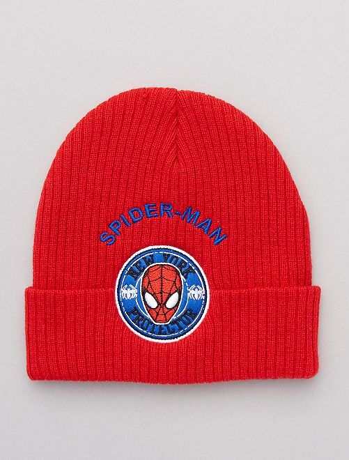 Bonnet 'Spider-Man'                                         rouge