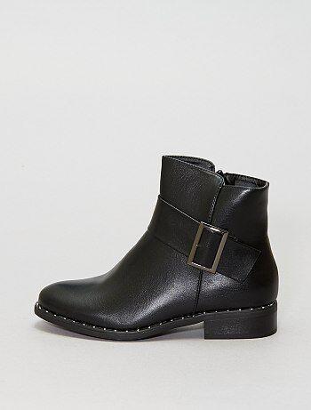 Boots à boucle