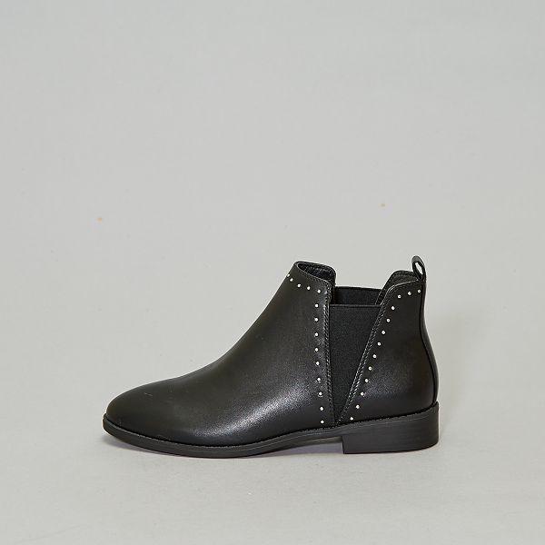 60% pas cher offre nouveau concept Boots à clous style chelsea