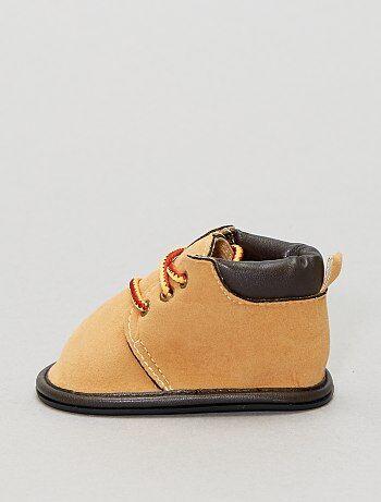 Boots à lacets fantaisies - Kiabi