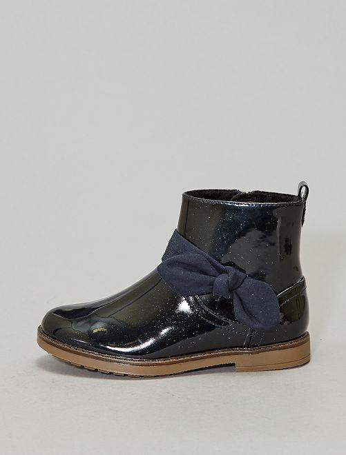 Boots à paillettes chaudes                                         bleu navy Chaussures