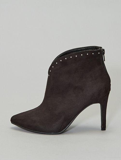 Boots avec clous                             noir