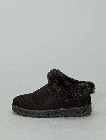 Boots basses fourrées