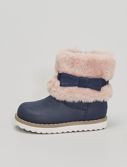 Boots bébé                             BLEU