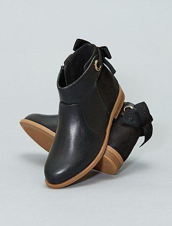 Boots bicolores - Kiabi