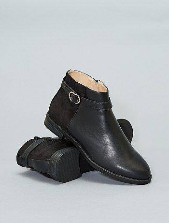 Soldes Boots Femme Bottines Plates Ou A Talons Pour Femme Pas Cher
