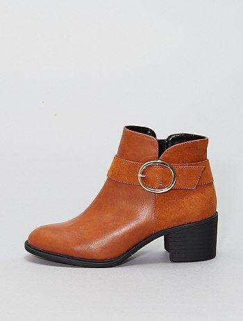 Boots camel - Kiabi