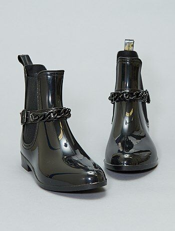 0c5e3344314 Boots de pluie vernies - Kiabi