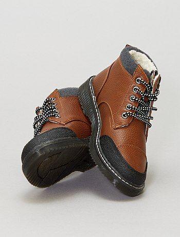 Garçon 3-12 ans - Boots en simili - Kiabi
