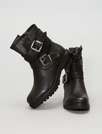 Boots en simili - Kiabi