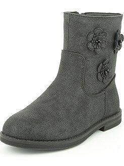 Chaussures, chaussons - Boots en simili pailleté