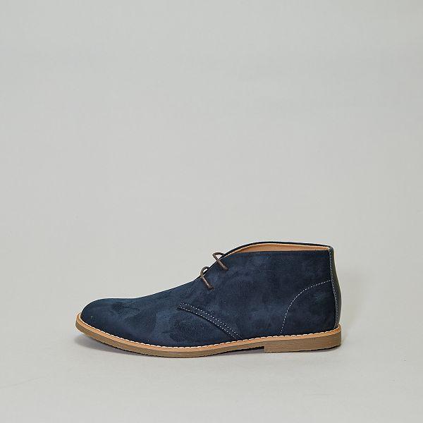 Boots en suédine