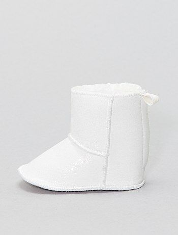 Boots en tissu pailleté - Kiabi