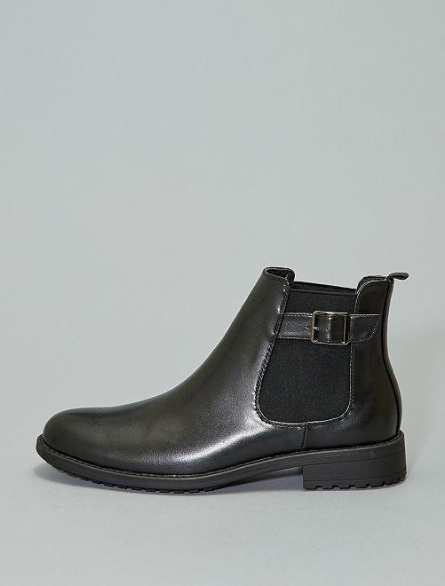 Boots esprit chelsea                             noir