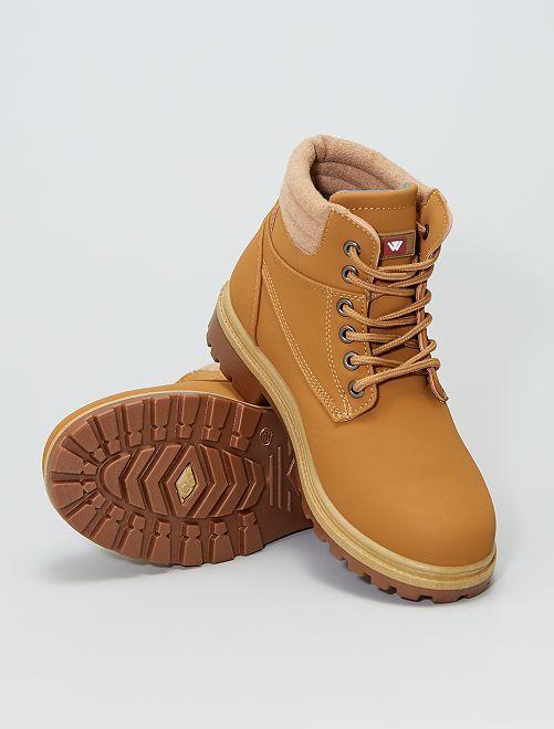 Boots esprit montagne                                                     camel
