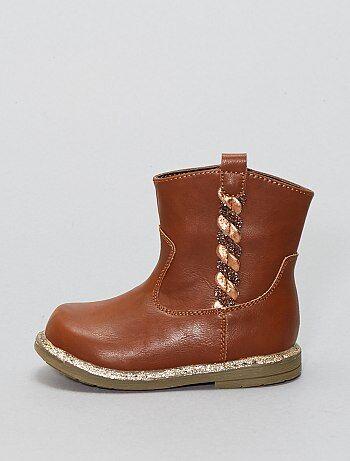 Boots esprit western - Kiabi