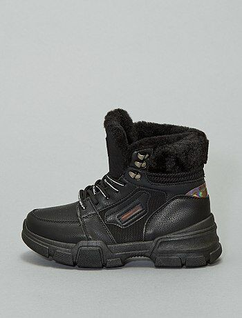Boots façon baskets