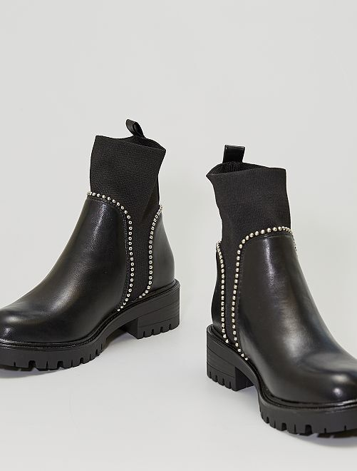 Boots femme                             noir
