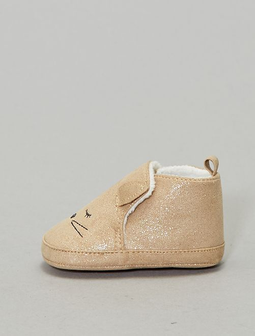 Boots fourrées                             beige Bébé fille