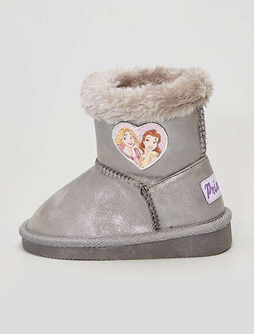 Boots fourrées 'Disney'                             gris