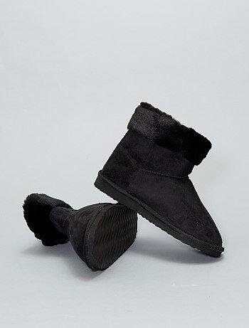 Boots fourrées - Kiabi