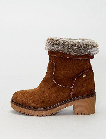Boots haute semelle