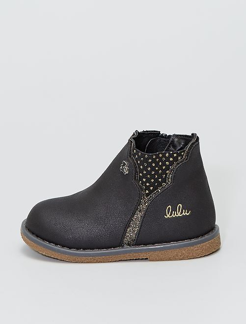 Boots 'Lulu Castagnette'                             noir