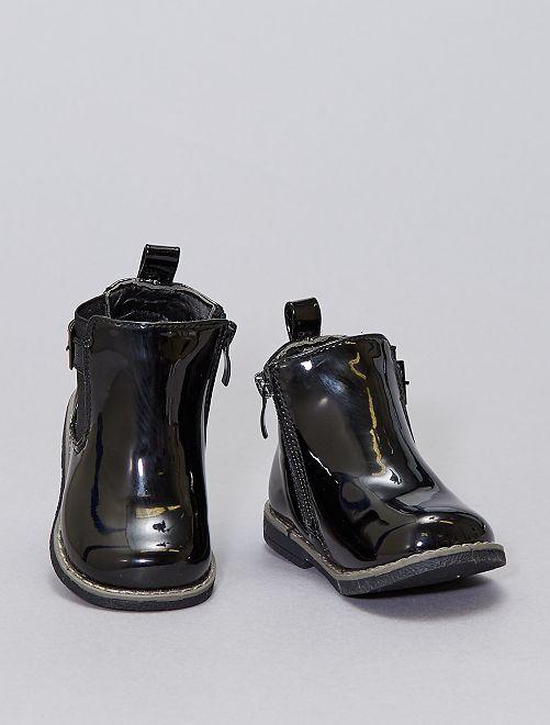 Boots 'Minoti' type chelsea                             noir