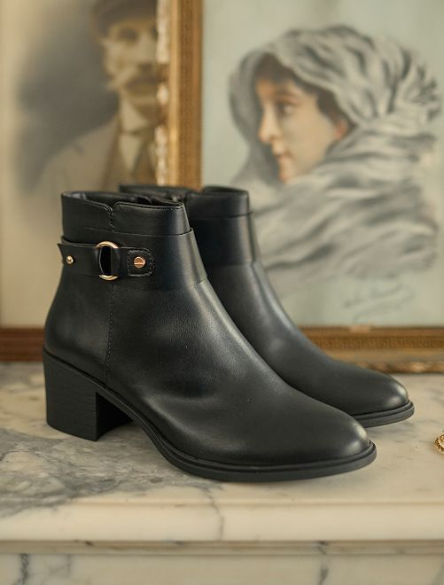 Boots noires                             noir