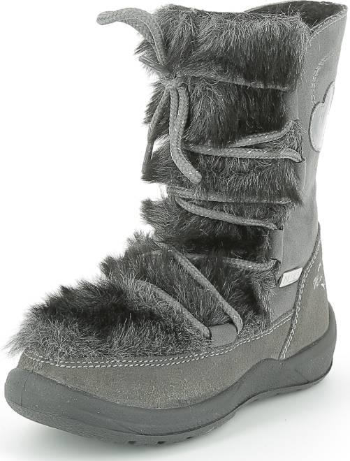 boots semelle int rieur cuir fille gris kiabi 40 00. Black Bedroom Furniture Sets. Home Design Ideas