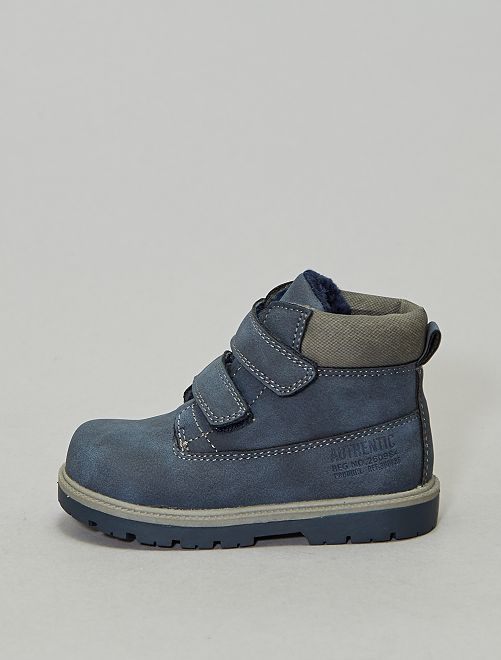 Boots style montagne                             bleu navy Chaussures