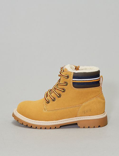 Boots style montagne                             camel