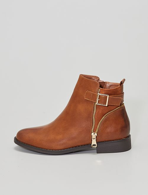 Boots type Chelsea                                         camel