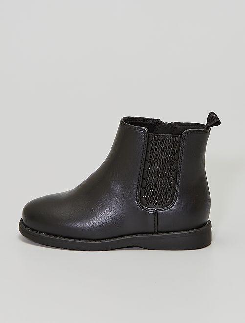 Boots type 'Chelsea'                                         noir