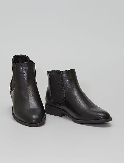Boots type Chelsea                             NOIR