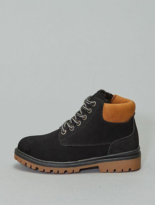 Boots type montagne                                         noir