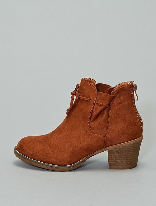 Boots type western                                         camel