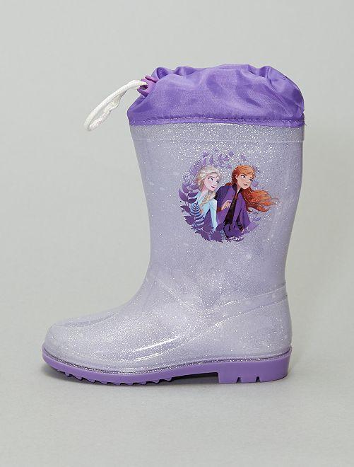 Botte de pluie 'La Reine des neiges 2' 'Disney'                             bleu