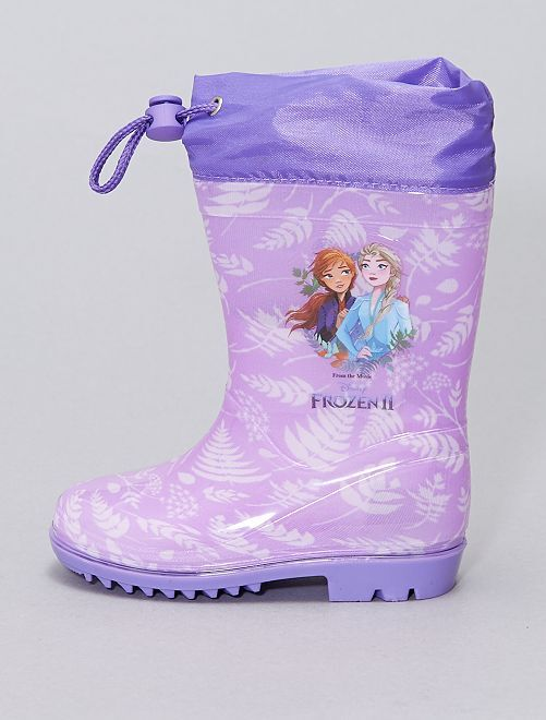 Botte de pluie 'La Reine des neiges 2' 'Disney'                             violet