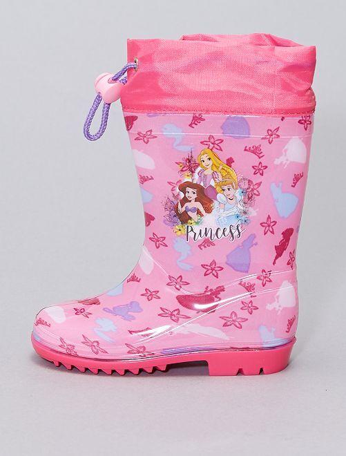 Botte de pluie 'Princess' 'Disney'                             rose