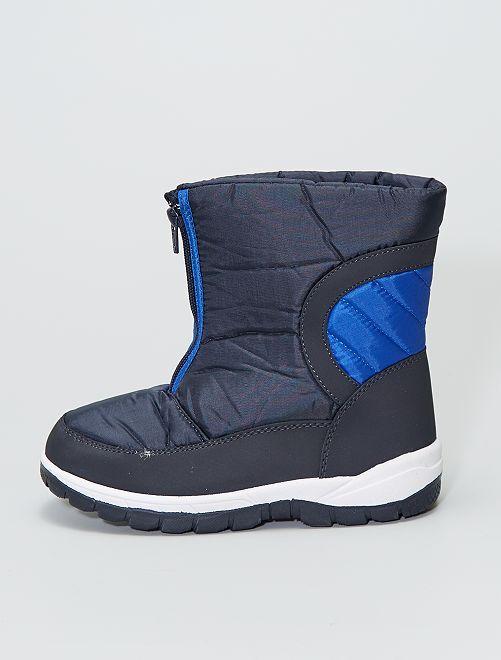 Bottes après-ski                             bleu