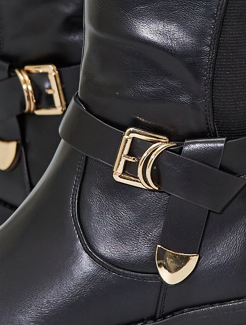 Bottes cavalières                     noir