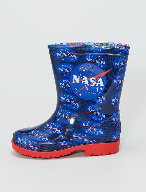 Bottes de pluie en PVC 'NASA'                             marine
