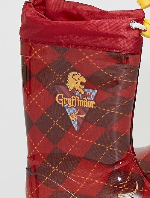 Bottes de pluie 'Gryffondor' 'Harry Potter'                             rouge