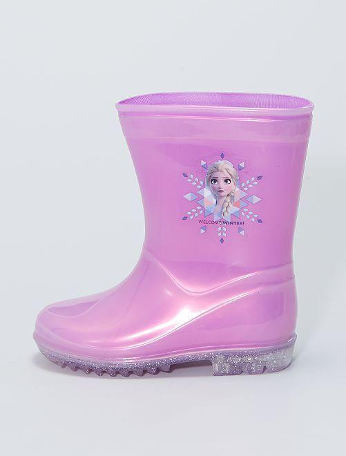 Bottes de pluie 'La Reine des Neiges 2'                             rose