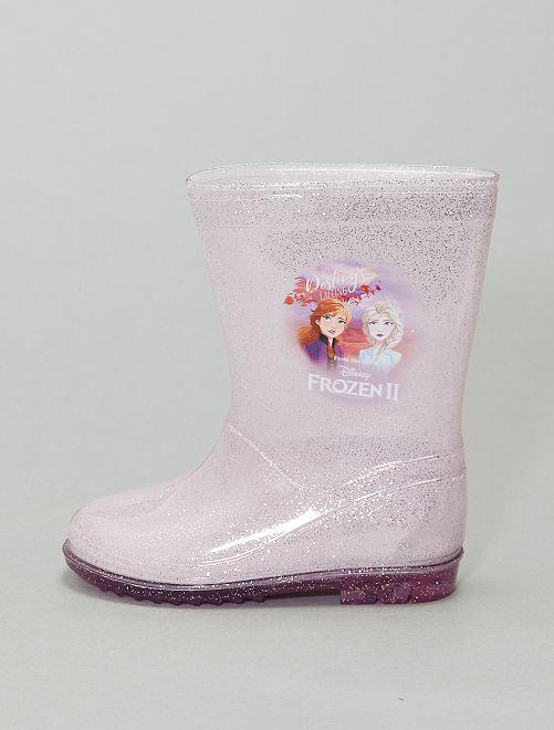 Bottes de pluie 'La Reine des neiges 2'                             violet