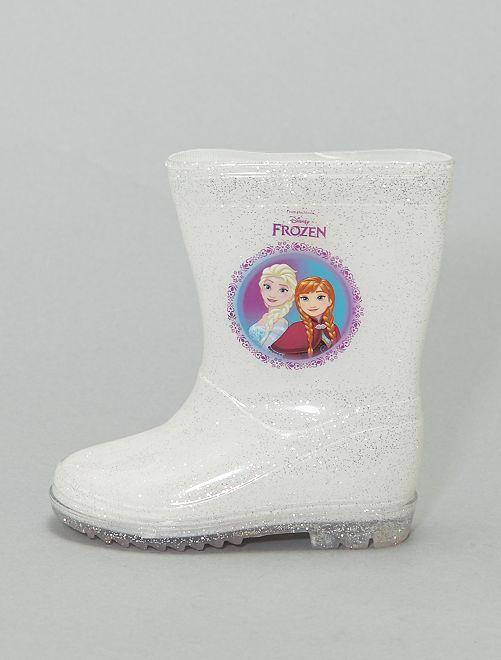 Bottes de pluie 'La Reine des Neiges'                             blanc