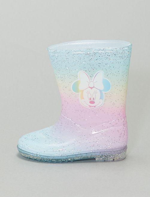 Bottes de pluie 'Minnie Mouse'                             arc-en-ciel